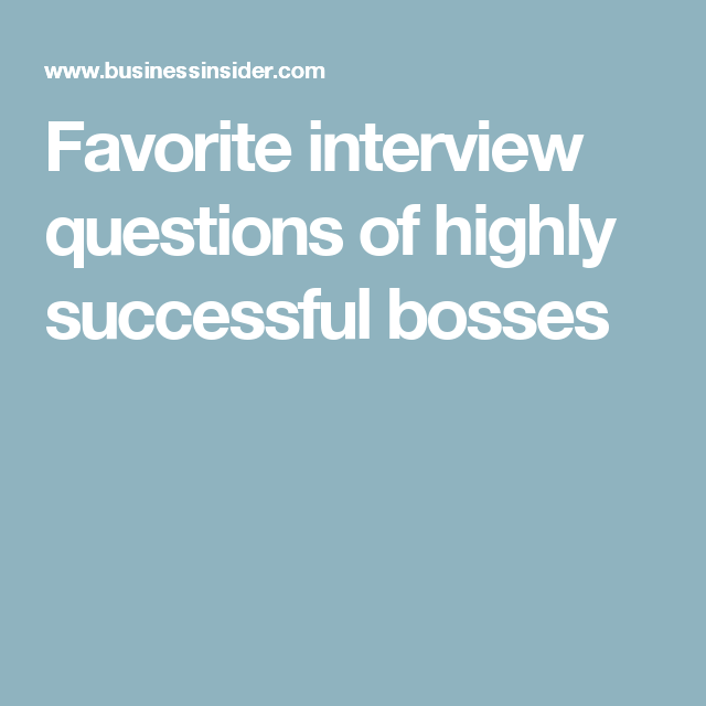 Here S What Elon Musk Richard Branson And 29 Other Successful People Ask Job Candidates During Interviews Interview Questions This Or That Questions Success