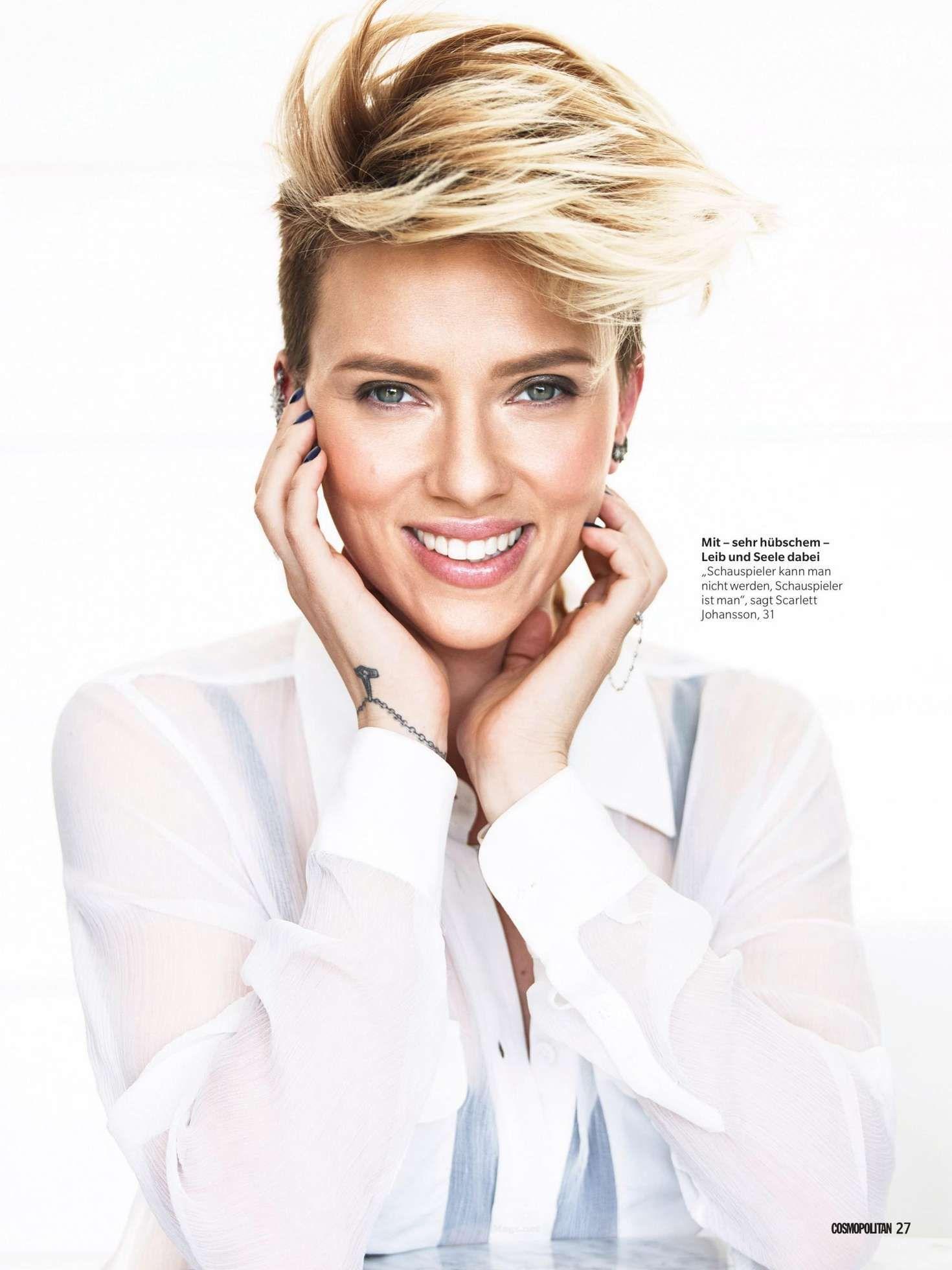 Scarlett Johansson  Undercut pixie  Pinterest  Scarlett Johansson