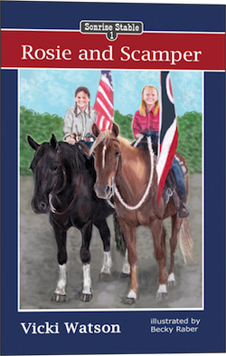 This is Book 1 in a Series of 4.  The series is a must for readers who enjoy family values, Christian faith, and, of course, horses!