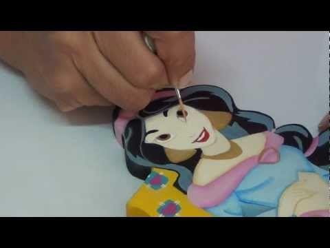 ▶ Curso Arte y Pintura Country en Madera - YouTube
