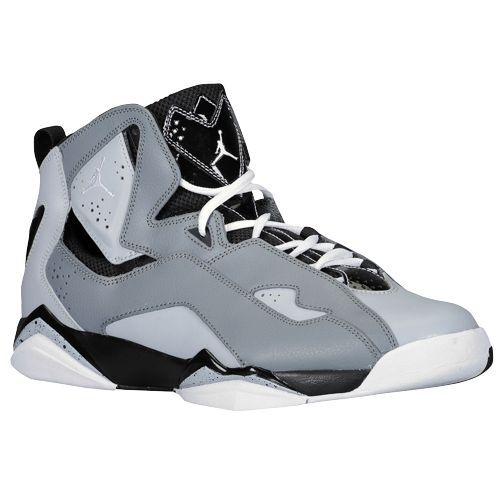 newest 68053 721fd Jordan True Flight - Cool Grey White Wolf Grey Black