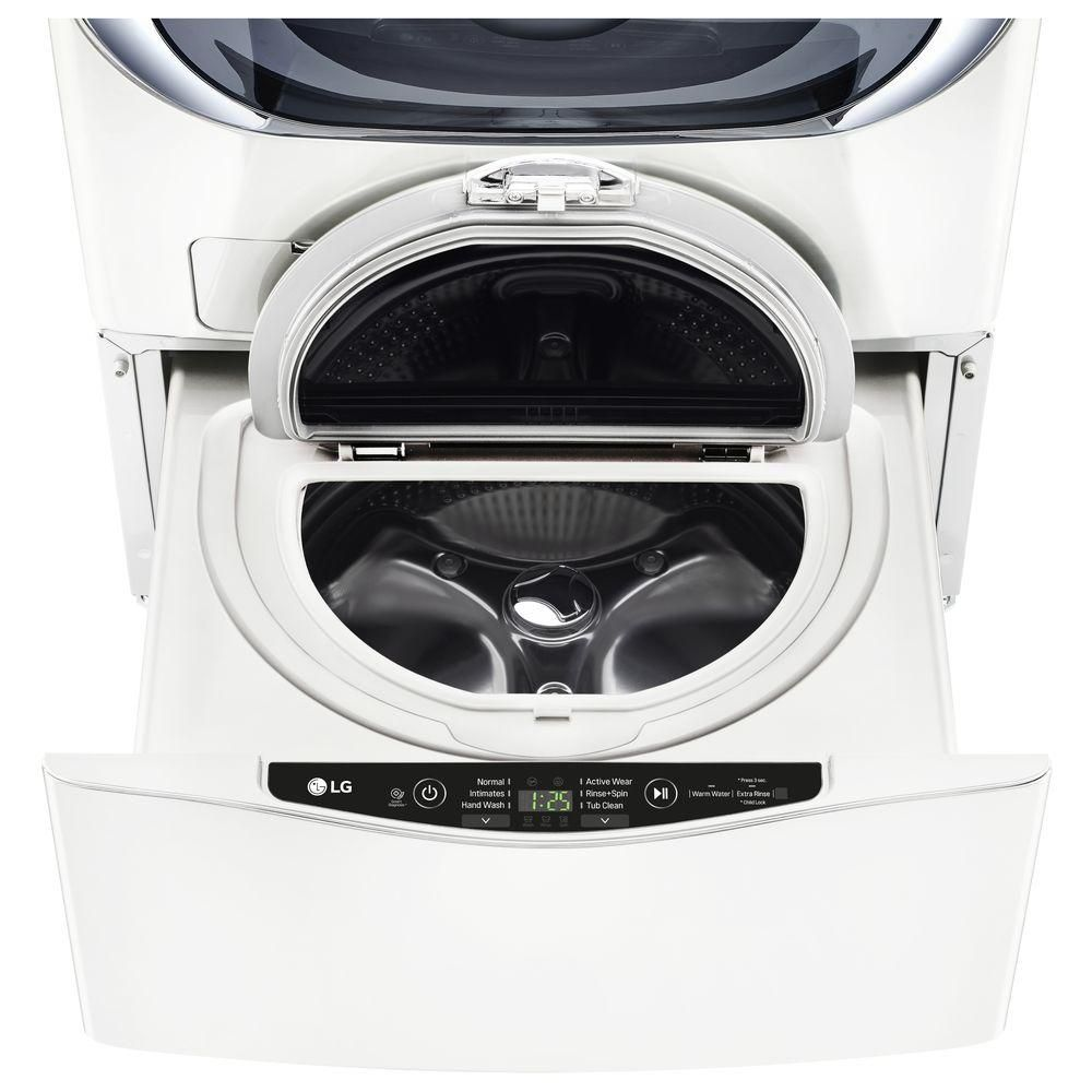 Lg Electronics 27 In 1 0 Cu Ft Sidekick Pedestal Washer With