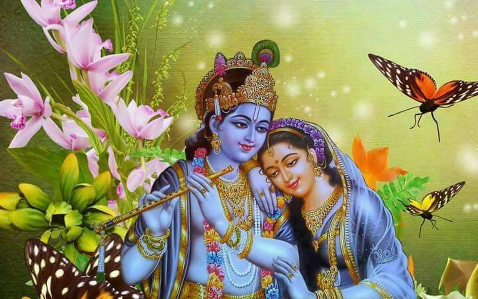 Good Morning Jai Shree Radhe Krishna Krishna Wallpaper Krishna Krishna Janmashtami