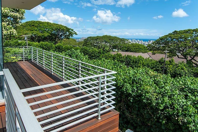 Aluminum Flat Bar   Railings outdoor, Deck railings, Beach ...