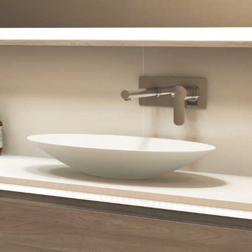 Timberline: Feather Basin Above Counter – 510mm | Bathrooms Are Us ...