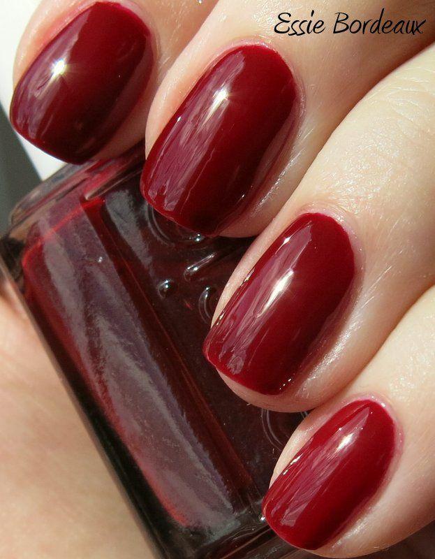 Essie Bordeaux | Essie - My Nail Polishes Collection | Pinterest