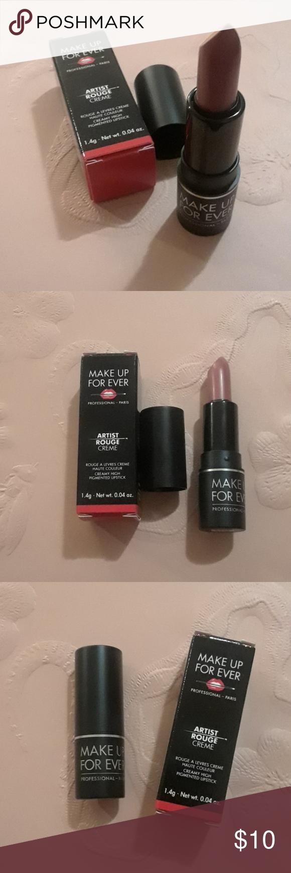 MAKE UP FOR EVER Artist Rouge Crème Lipstick 💋 MAKE UP FOR