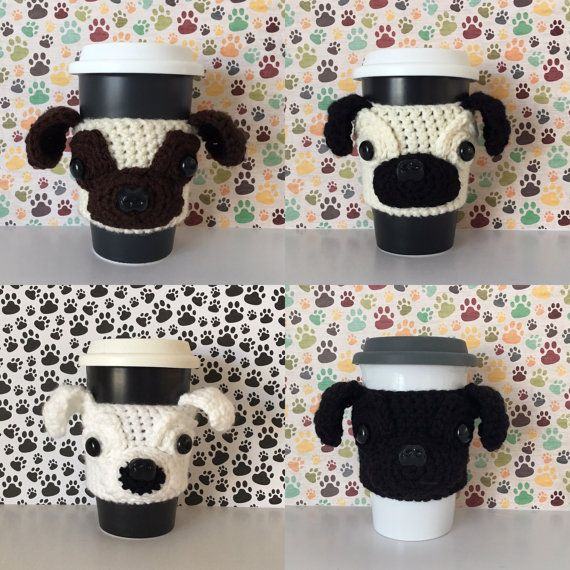 Pug Mug - Pug Coffee Mug - Pug Dog - Pug Decor - Pug Gifts - Pug Life - Cute Pug - Pug Lover Gift - Dog Lover - Dog Owner Gift - Black Pug