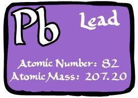 Atomic number 82 symbol pb mass number 20720 lead atomic number 82 symbol pb mass number 20720 urtaz Choice Image