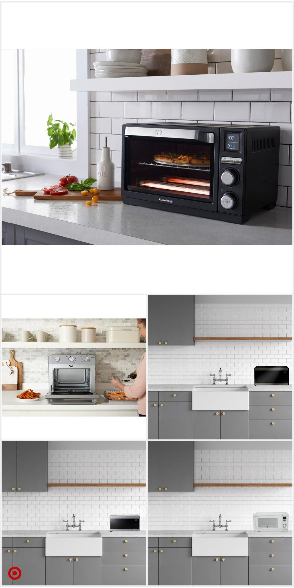 Shop Target For Countertop Ovens You Will Love At Great Low Prices Free Shipping On Orders Of 35 O In 2020 Countertop Oven Countertops White Countertops