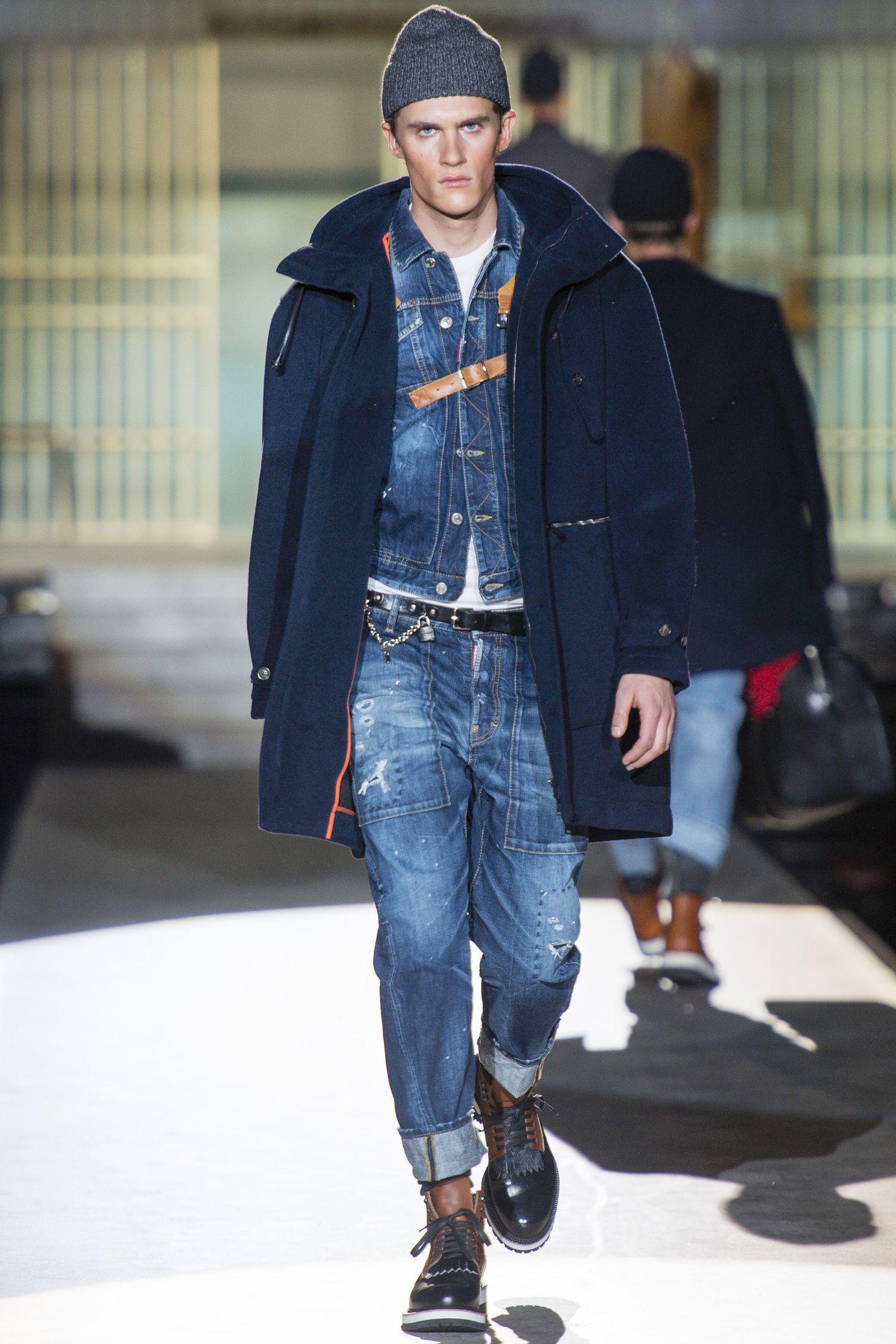 Dsquared menswear fall/winter 20142015 Mens fashion