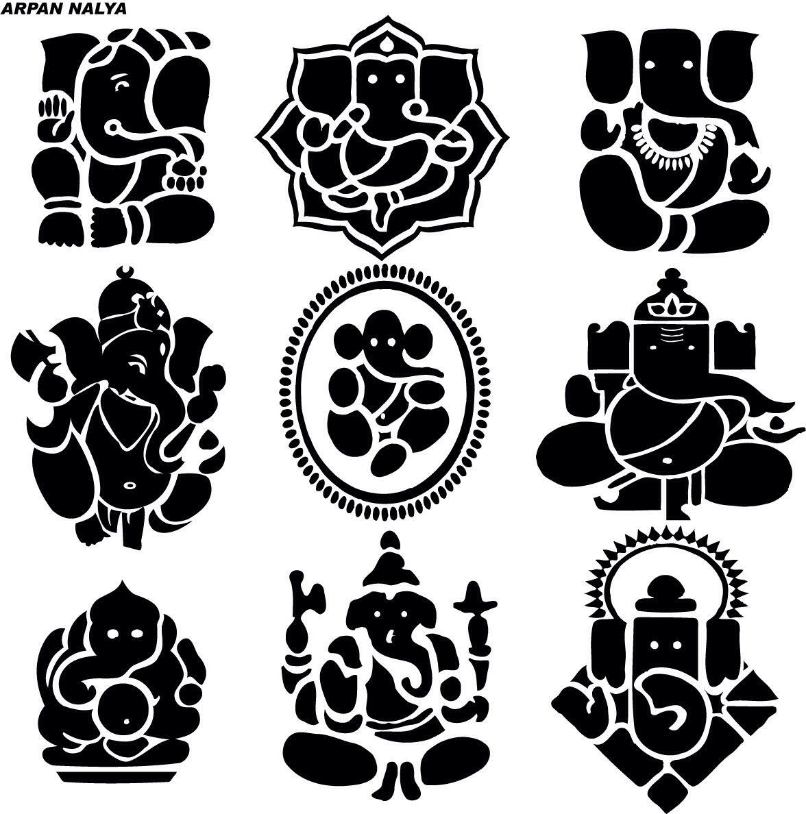 11 ganesha tattoo designs ideas and samples - Ganesh In The Lotus