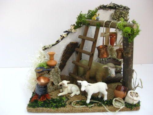 Western nativity scene