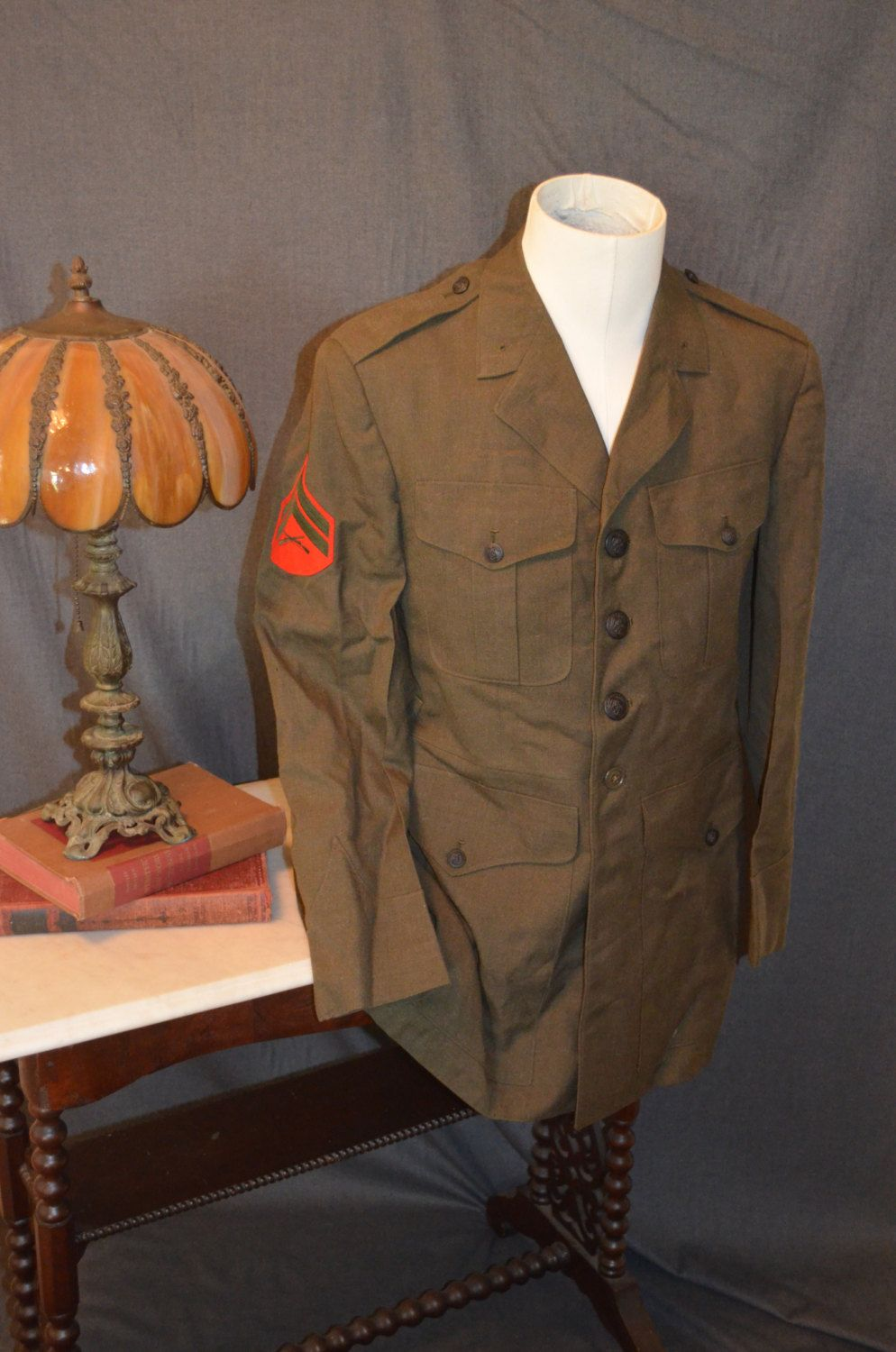 Vintage Military Corp Rifleman Jacket (Size40L) by