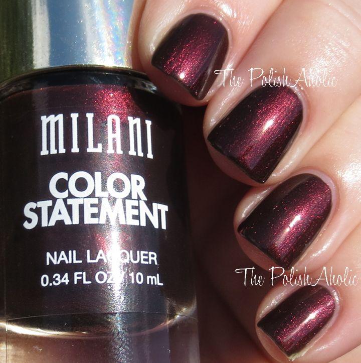Milani Fall 2014 Enchanted Garnet Swatch & Review (The PolishAholic)