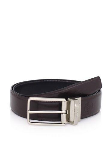 a6010f11cd 65% OFF Lacoste Men's Reversible Leather Belt (Black/brown) | Belt ...