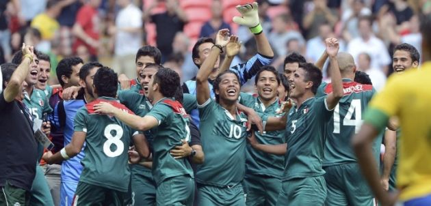 Mexico wins first soccer gold medalAgencia EFE