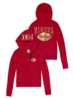 5fcc5700 San Francisco 49ers Zip Hoodie | Fashion | Ropa, Ropa de mujer, Mujeres