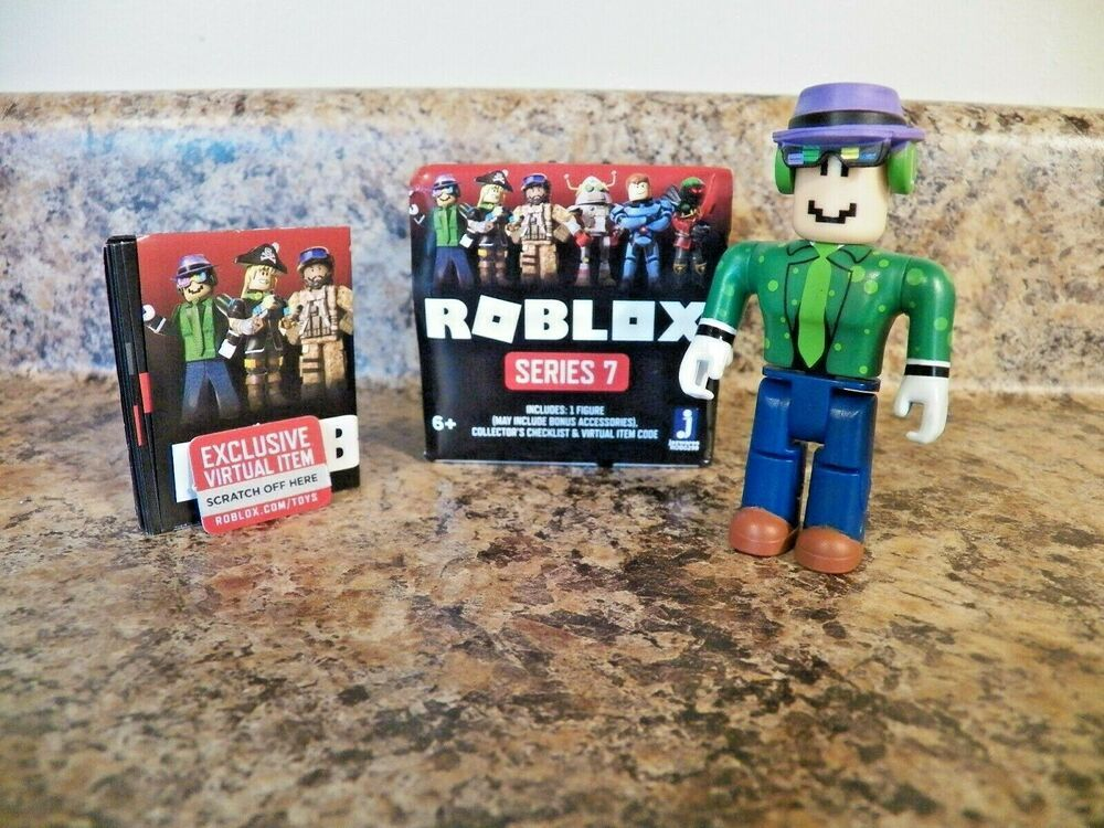 Mr Zombie Roblox Mrwindy Mr Windy Roblox Mini Figure W Virtual Game Code Series 7 New Roblox In 2020 Game Codes Virtual Games Roblox