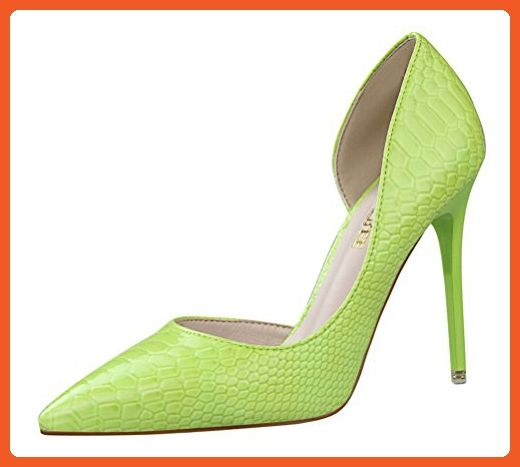 T&Mates Womens Sexy Fashion Pointed Toe High Heel Stiletto Patent D'Orsay  Dress Pumps Shoes