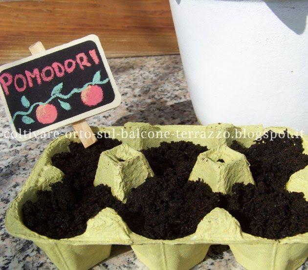 Come coltivare orto sul balcone e terrazzo: RICICLO: CONTENITORI ...