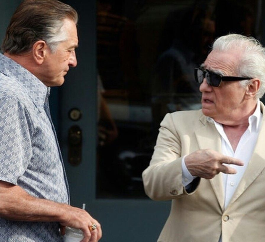 First Set Photos From The Irishman Reunite Martin Scorsese Joe