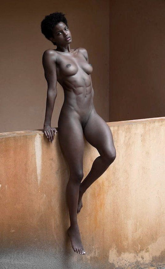 Black girl naked with abs ass