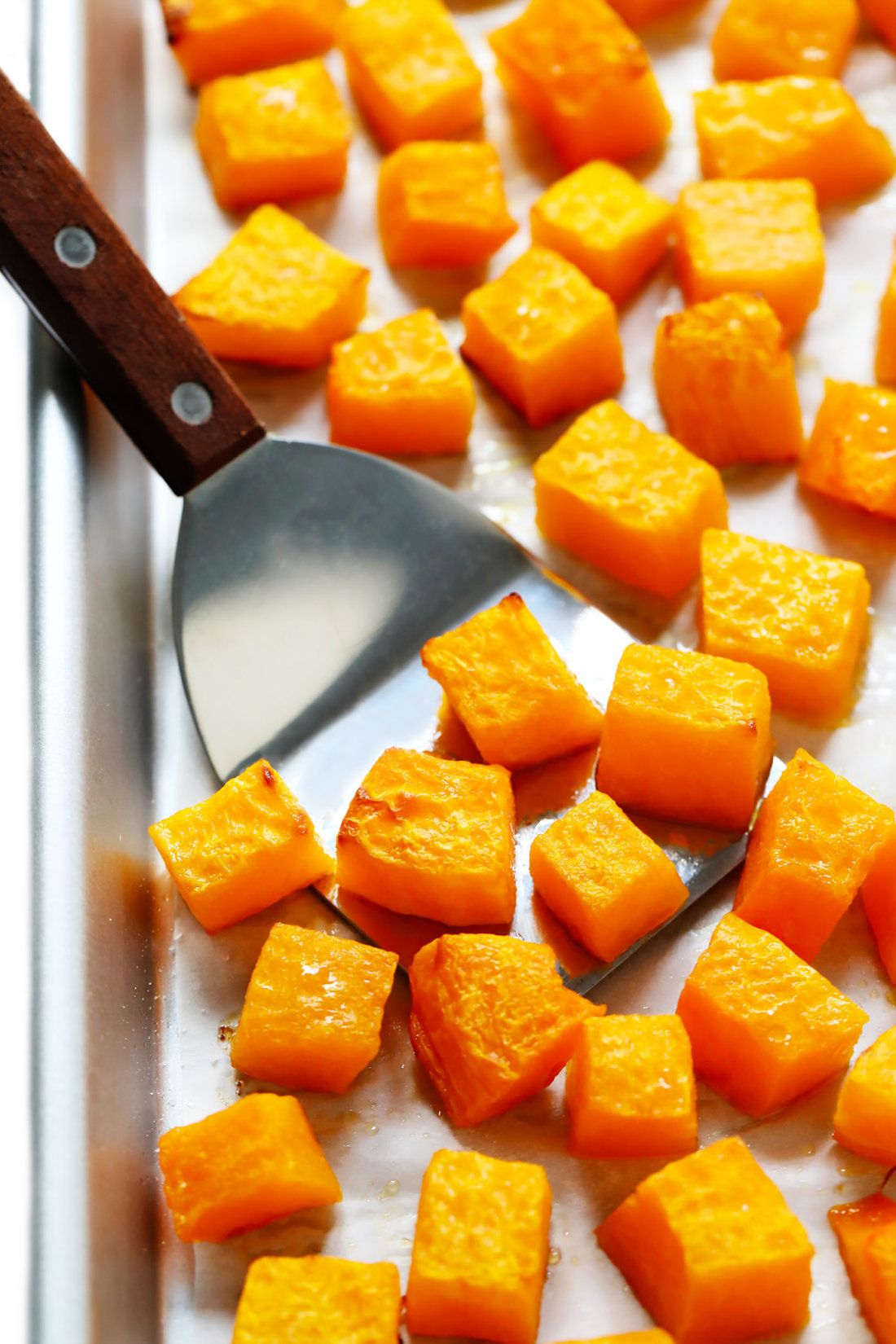 Roasted Butternut Squash (Cubes or Halves) Recipe