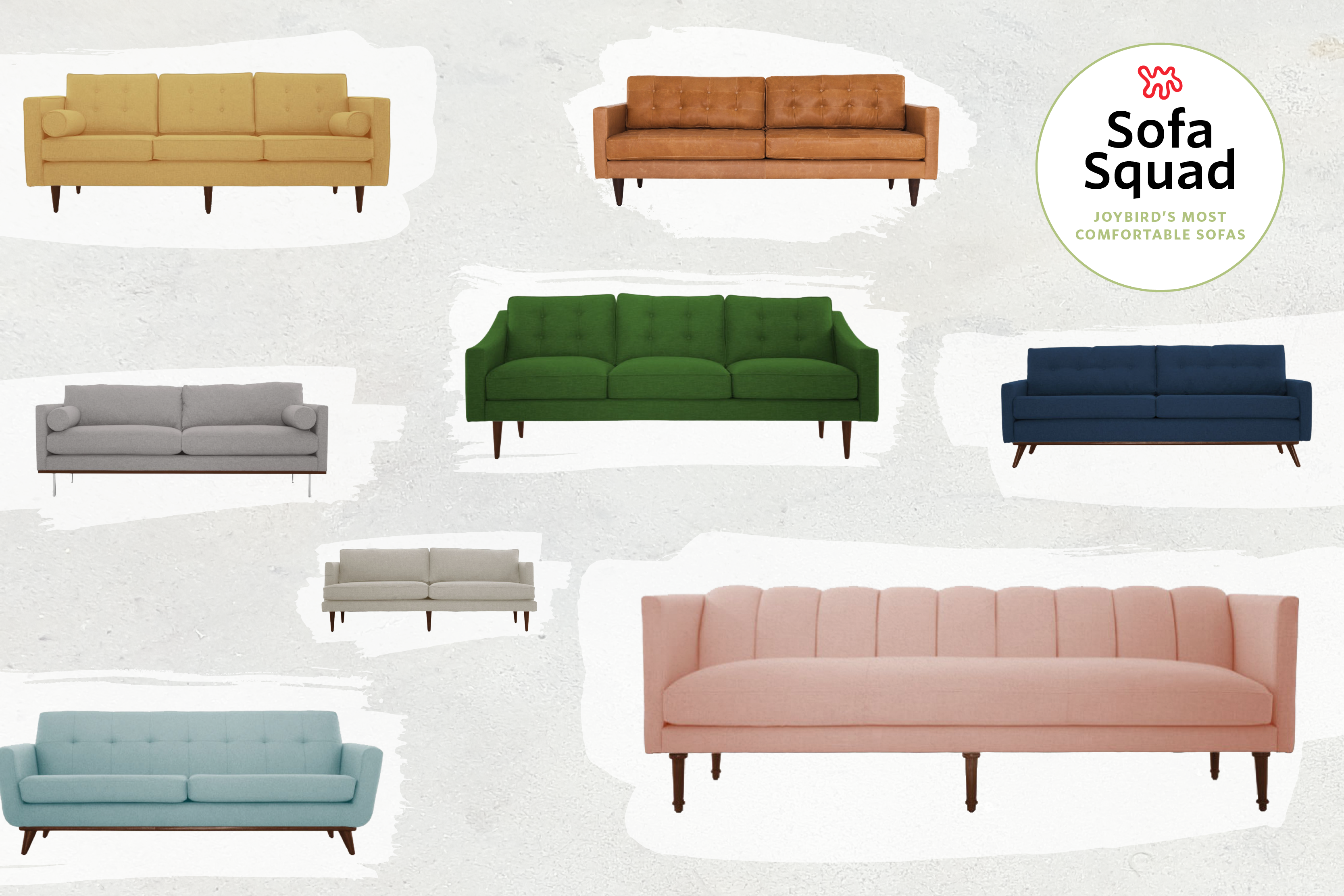 Reviewed the most comfortable sofas at joybird the apartment therapy sofa squad