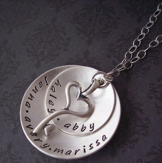 10b81acf83164 Hand Stamped Jewelry- Hand Stamped Necklace- personalized Jewelry ...