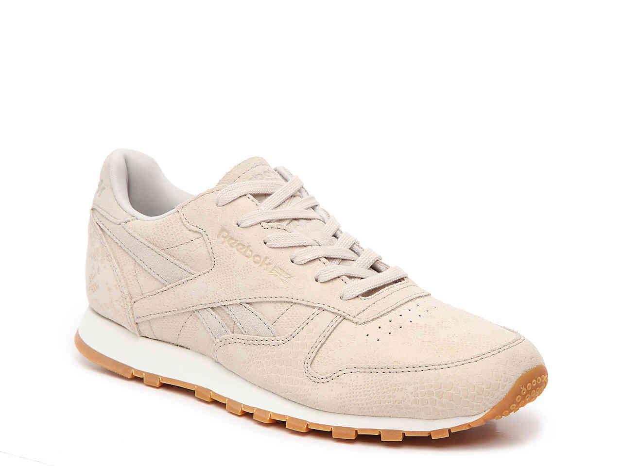 Reebok Classic Leather Women Sneaker cream   B2B