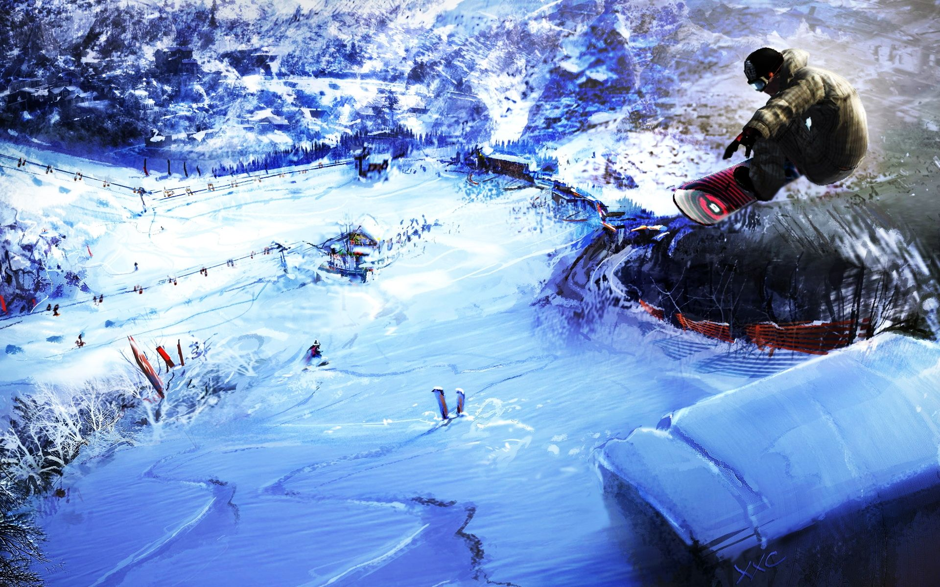 Snowboarding Wallpaper Hd Wallpapers (High Definition