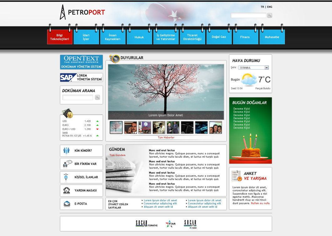 Sharepoint intranet portal by blackiron sharepoint intranet for Portale design