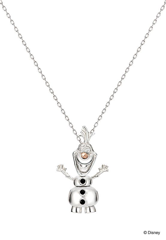 """Pendant: Olaf, Movie """"Frozen.""""/ 【Olaf-オラフ(大)-】『本当の愛は自分より相手を思う心』大切な人がいつも笑顔でいられますように…。/ K.uno is a jewelry brand in Japan. We create bridal and fashion jewelry and apparels from our original to custom made designs. ◆HP→http://www.k-uno.co.jp/ ◆MAIL→k-uno@k-uno.co.jp"""