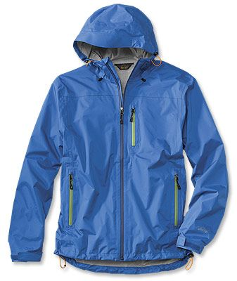 This men's lightweight rain jacket packs easily, travels well, and ...