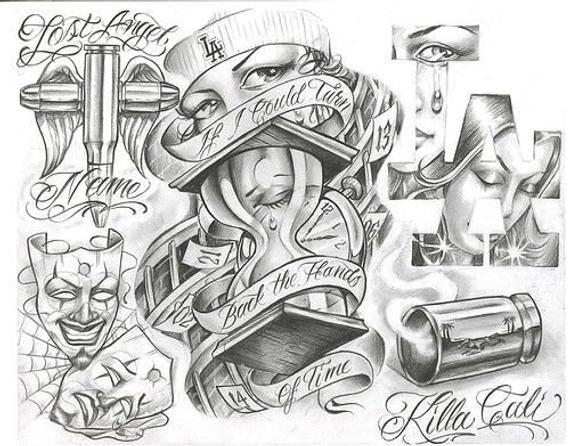 Tribal Flower Temporary Tattoo Design 2x2 Inch Etsy In 2020 Boog Tattoo Sleeve Tattoos Chicano Art Tattoos