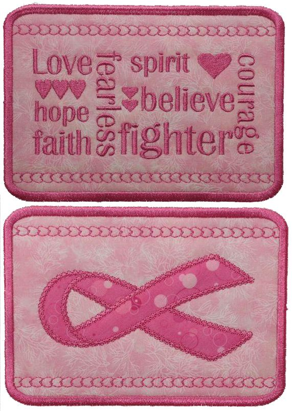 October is Breast Cancer Awareness Month, and if you're looking for some beautiful machine embroidery designs to promote awareness or serve as wonderful tributes to honor loved ones lost or celebrate the victory of survival, you've found them. (Psst...some of them are even free!)
