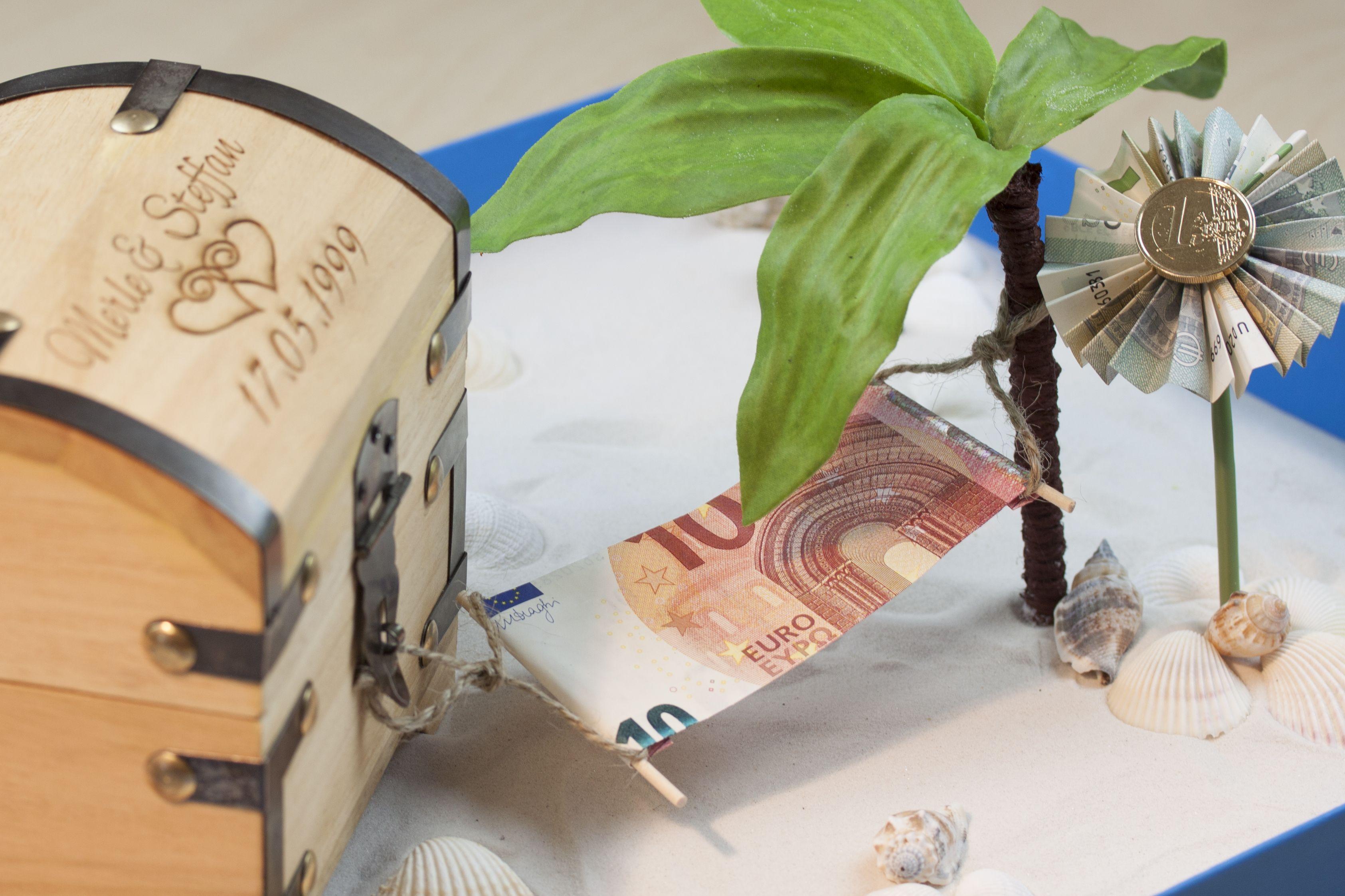 Hängematten Geld Geldgeschenke Hochzeit Basteln Hochzeit