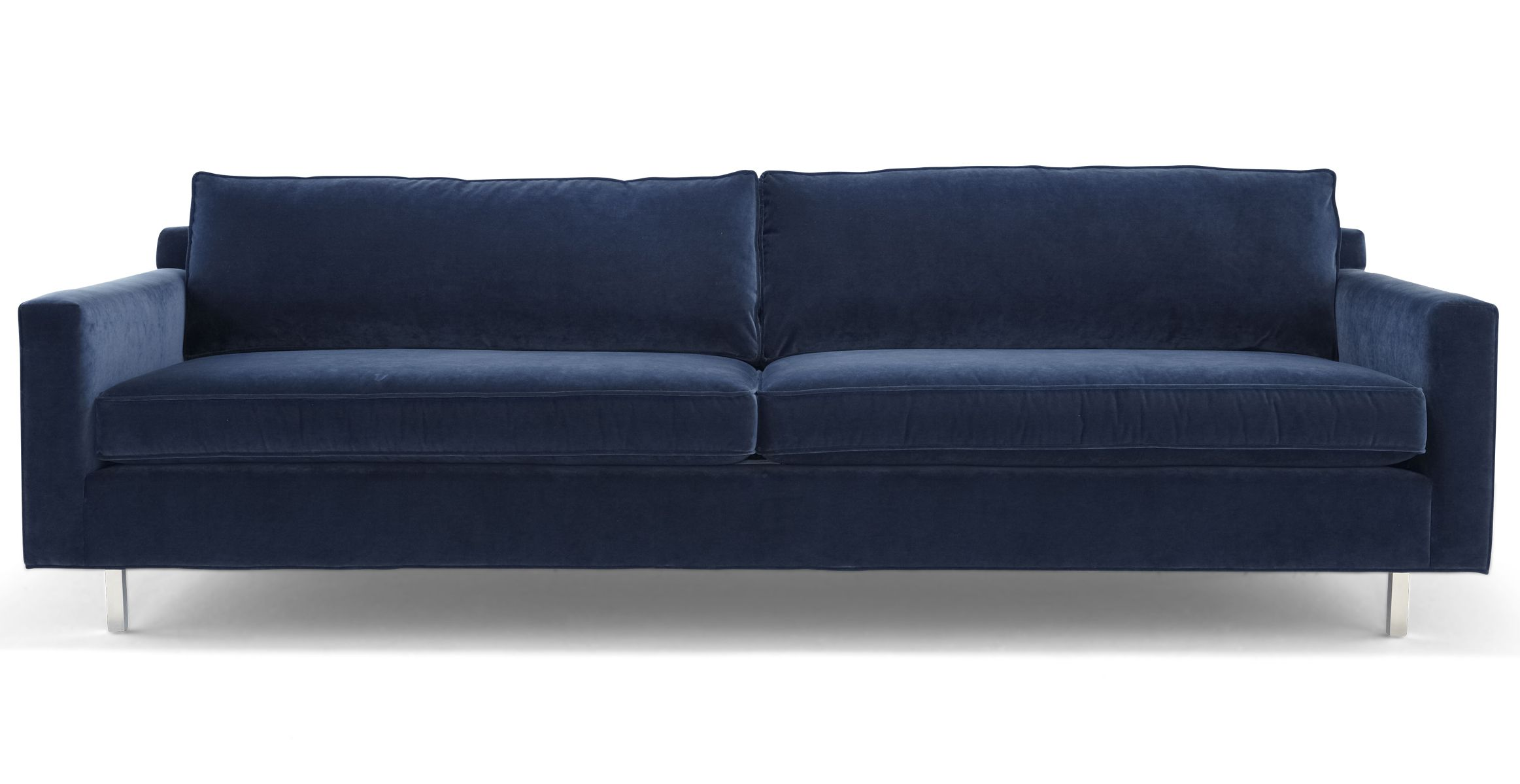 Hunter Wood Leg Sofa Mitchell Gold Bob Williams This Is A More Contemporary Direction But I Like How Low The Back To Carry E Through From