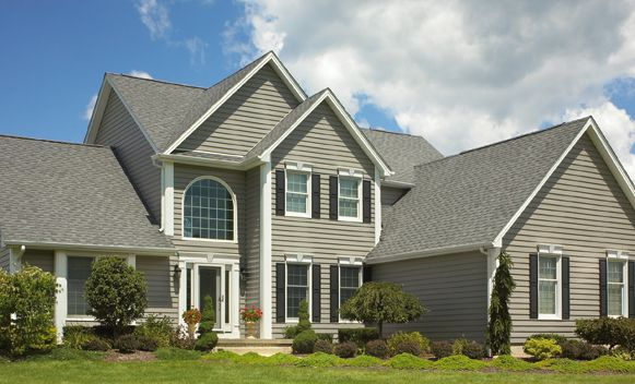 Exterior Remodel By Craftsmen Home Improvement Cincinnati Roofing Vinyl Siding Insulated Vinyl Siding Residential Roofing