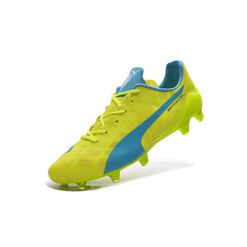 purchase cheap f8a4f 44c2f Puma - Beste Puma evoSPEED 1.4 SL FG Blauw Geel Voetbalschoenen. Find this  Pin and more on Football Boots ...