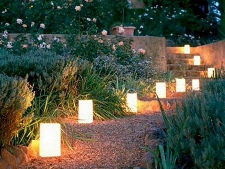 20 Wonderful Outdoor Lighting Ideas For A Shabby Beautiful Garden