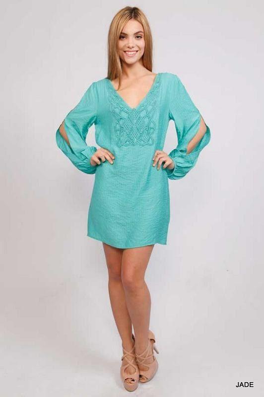 $44 Jade Linen Summer Dress  http://shopessenceboutique.com/products/jade-linen-summer-dress