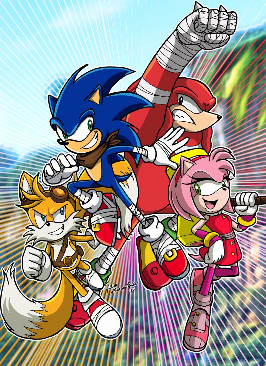 Sonic Boom By Yuski On Deviantart Sonic Sonic Boom Sonic Fan Characters