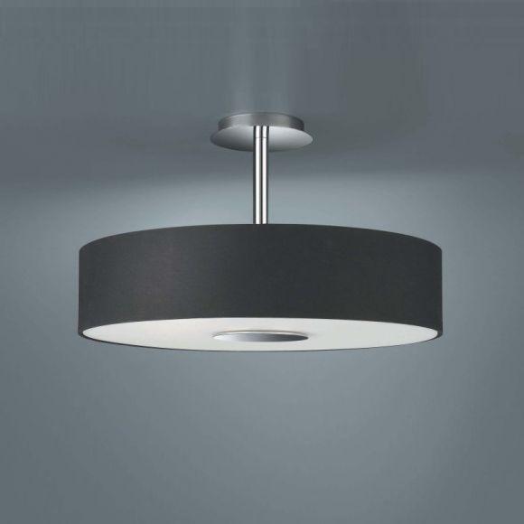 Moderne Deckenlampe In Schlichter Form Schwarz Schwarz Silber Stahlfarbig Ja Moderne Deckenlampen Deckenlampe Lampe