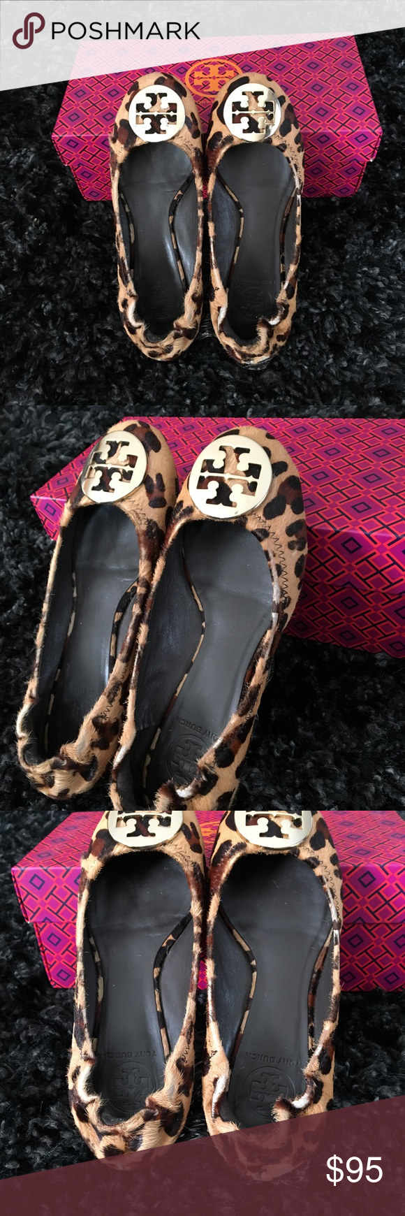 576085ae7d3a Authentic leopard print Tory Burch Flats! Authentic TB flats perfect for  fall! These are