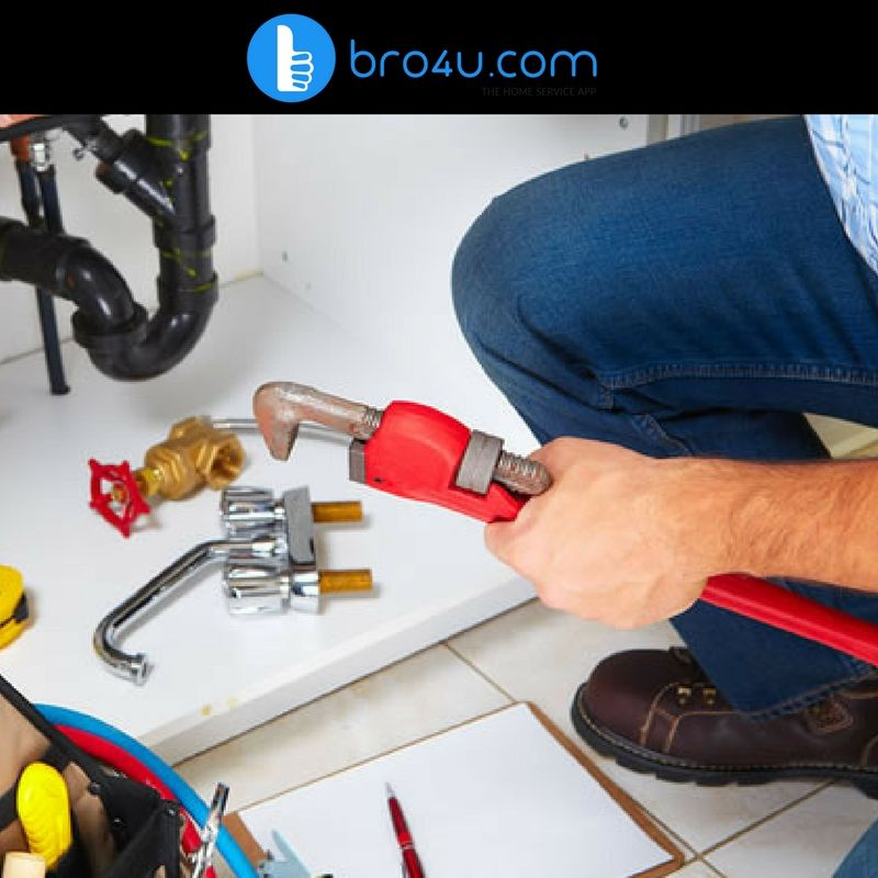 Plumbing service at Bro4u is the most convenient way to