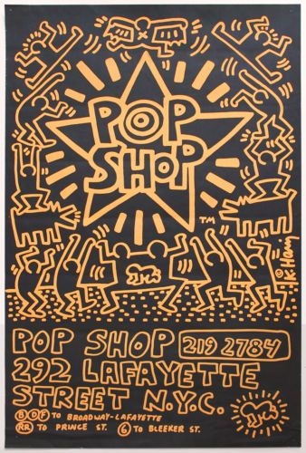 9c5c93be9 Keith Haring Pop Shop ad poster | Funko! | Keith haring poster ...