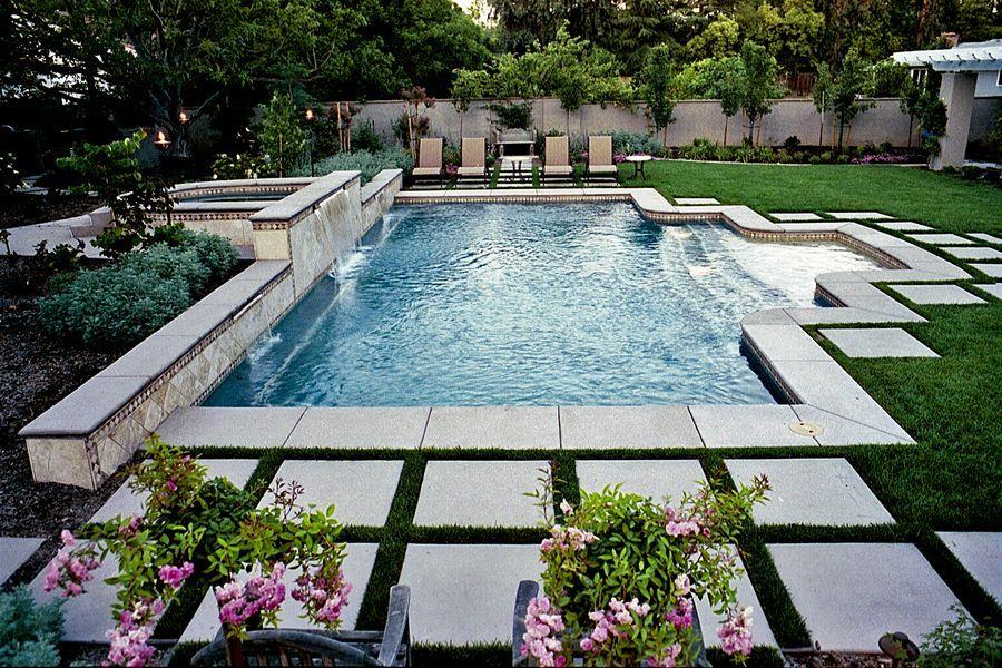 Backyard · Custom Swimming Pools U0026 Spa Sacramento ...