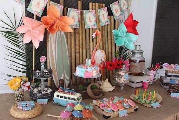 20 Mesa de dulces fiesta infantil